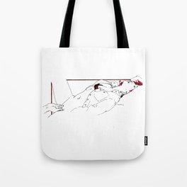 Nudegrafia - 005 fingering Tote Bag