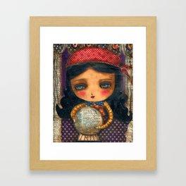 The Fortune Teller Framed Art Print
