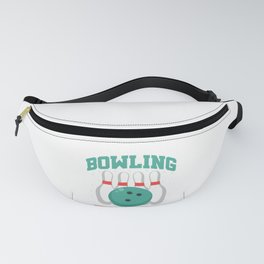 Bowler Bowling Is Right Up My Alley Fanny Pack
