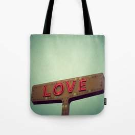 Love Signs Tote Bag