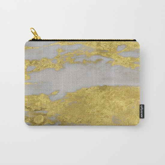 Agria gold marble Carry-All Pouch