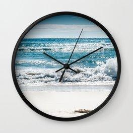 Salty toes Wall Clock