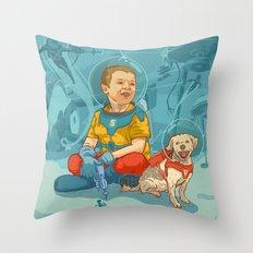Simi & Vaci Throw Pillow