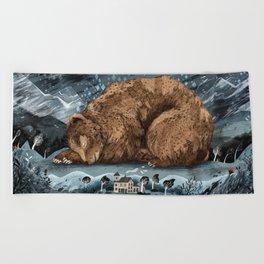 The Lake House Beach Towel