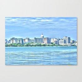 Madison Skyline Canvas Print