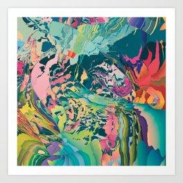 Treasures of the jungle Art Print