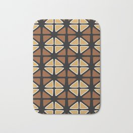 Mud cloth diamonds Bath Mat