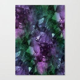 Crystal Geode Canvas Print