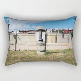 Easter Island, Baltimore Rectangular Pillow