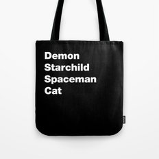 Kiss for typographers Tote Bag