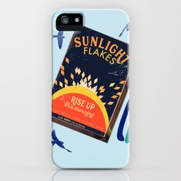 Rise up sunlight  iPhone Case