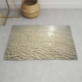 Beach - Waves - Coastal Rug
