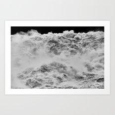 Waterfalls Art Print