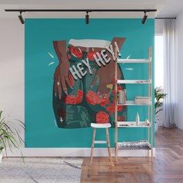 hey hey - girl power Wall Mural