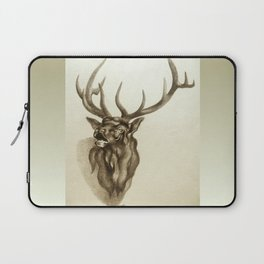 Elk Portrait - In the Roar Laptop Sleeve