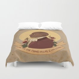 I'm Willing To Duvet Cover