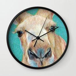 Roo Roo Wall Clock