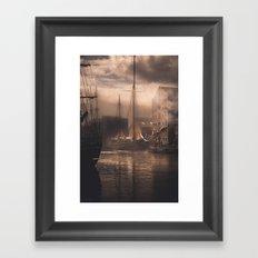 Old Ships Framed Art Print