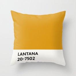 Lantana Chip Throw Pillow
