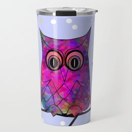 The Festive Owl Travel Mug