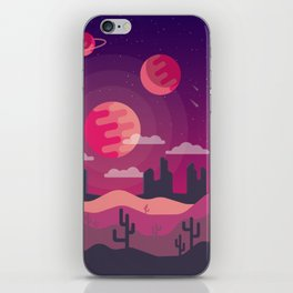 Magical desert iPhone Skin