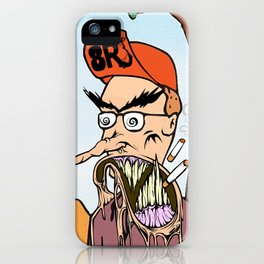 King Of The Hell iPhone Case