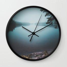 Lake insomnia Wall Clock