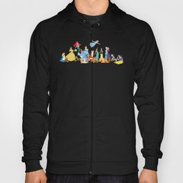Princess character and their friends Hoody