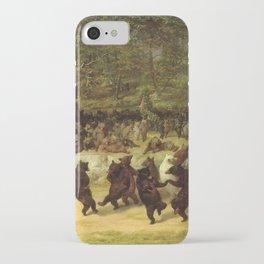 William Holbrook Beard - The Bear Dance iPhone Case