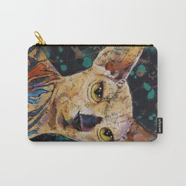 Tattooed Sphynx Carry-All Pouch