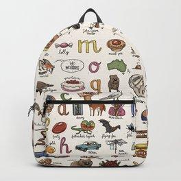 The Australian Alphabet Backpack