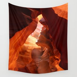 A Canyon Sculptured By Water Wall Tapestry