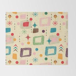 Atomic pattern Throw Blanket