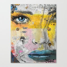 I LOVE NOT KNOWING Canvas Print