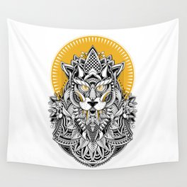 Alpha Wolf Wall Tapestry
