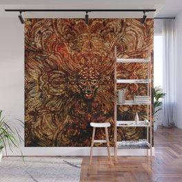 AlienPattern Wall Mural
