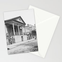Chartres Street, Vieux Carre, New Orleans, Louisiana 1906 Stationery Cards