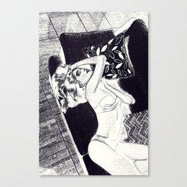 Silueta 2 Canvas Print