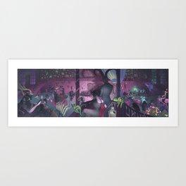 Midnight Cabaret Art Print