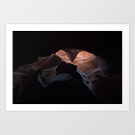 Upper Antelope Canyon-0466 Art Print