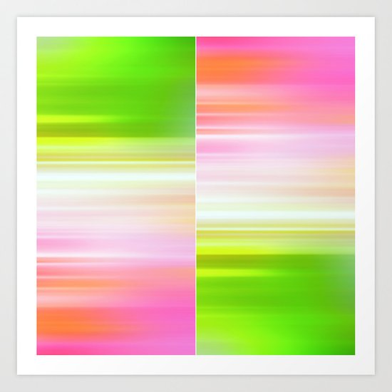 The Sound of Light and Color II Art Print