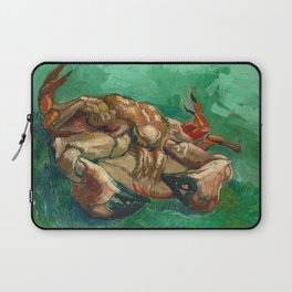 Crab on it's Back by Vincent Van Gogh, 1889 Laptop Sleeve