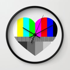 A Test of Love Wall Clock