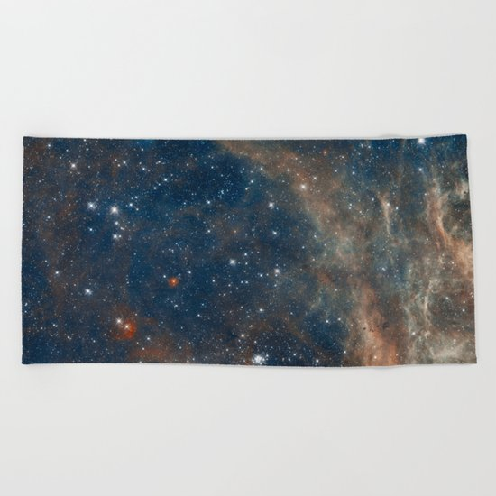 Space 05 Beach Towel