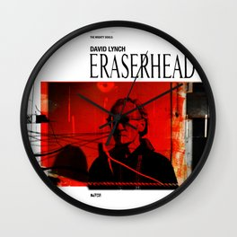 Eraserhead 1 Wall Clock