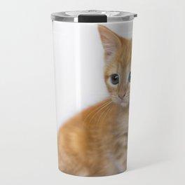 Ginger Kitten Travel Mug