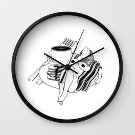 Big Breakfast Wall Clock