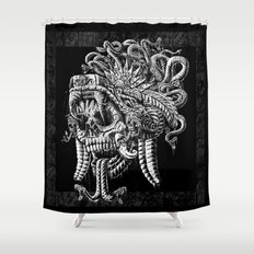 Serpent Warrior Shower Curtain