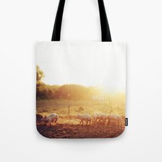 Pig Dust Tote Bag