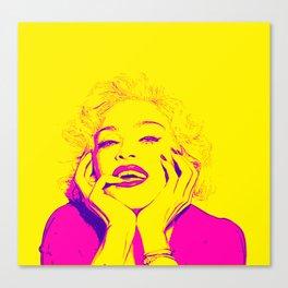 Bright Madonna Canvas Print